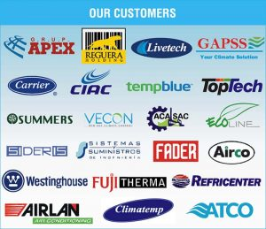 NEWEX HVAC/R Compressor Company customers
