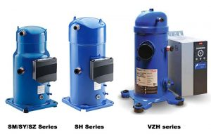 Danfoss Scroll Compressor Series