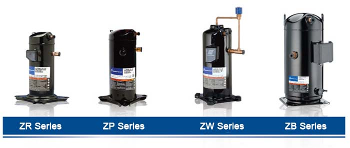 Emerson copeland scroll compressor Product Series