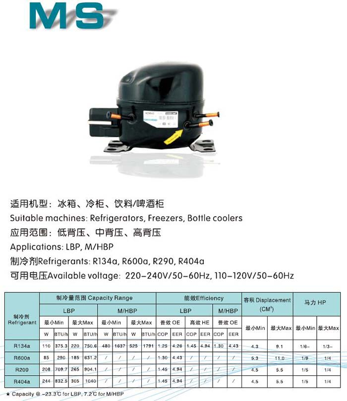 MAIDI SIKELAN Compressor-MS Series