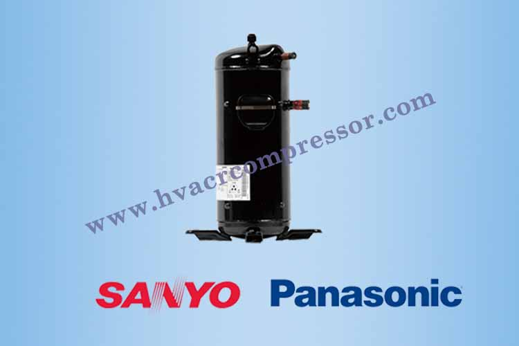 Panasonic SANYO Scroll Compressor For Air Conditioning Air Conditioner Refrigeration Heat Pump-1 - 750-500