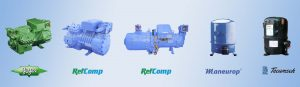 BITZER-Refcomp-TECUMSEH-Maneurop-XINGFA-ANKANG-Reciprocating-Hermetic-Screw-Compressor