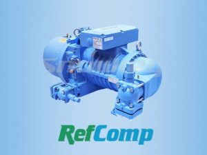 RefComp Screw Compressor for Refrigeration