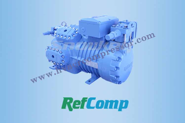 Refcomp Semi Hermetic Piston Compressor For Refrigeration-1 - 750-500